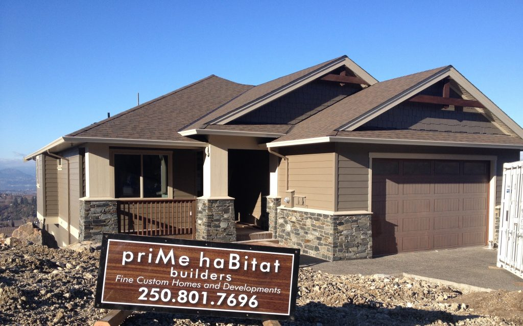 Home prime habitat design build for Small house design kelowna